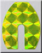 Chartreuse Holo Blade Tape