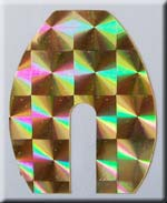 Gold Holo Blade Tape