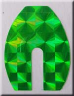 Green Holo Blade Tape